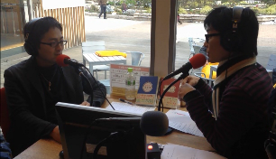 ラジオコーナー「西澤ロイの頑張らない英語」