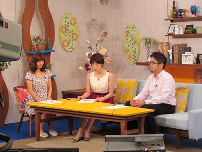 J:COMチャンネル「ステキ+Life」に出演しました