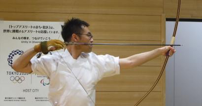 You, Me And Zen(インターナショナルな弓道クラブ)の主宰、木内洋一さんの英語インタビュー