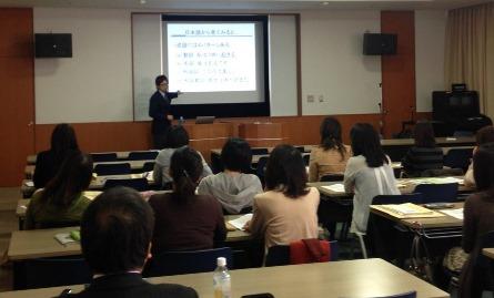 学研教室(立川)での英語研修
