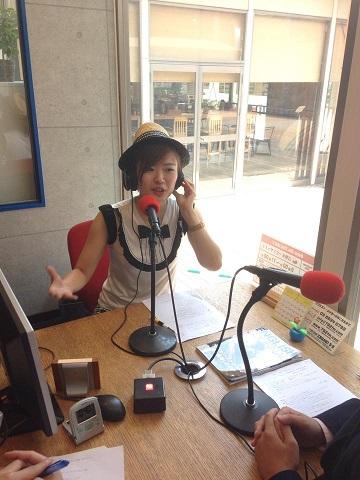 kaori@ラジオ「西澤ロイの頑張らない英語」
