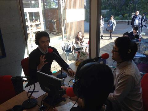 ゲストにバイリンガル英語コーチのNOBU(山田暢彦)先生をお迎えしました