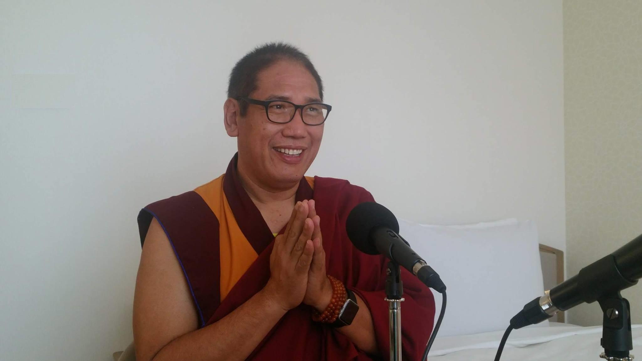 チベット仏教の高僧ザ・チョジェ・リンポチェ師の特別インタビュー2(英語&日本語訳を全文掲載)