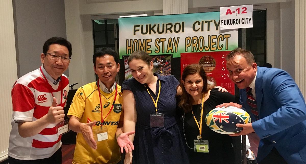 「Homestay in Japan」の代表、 竹島 千歳さんに英語でSpeakUpしていただきました