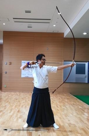 10年ぶりの弓道で、少し取り戻してきた感触