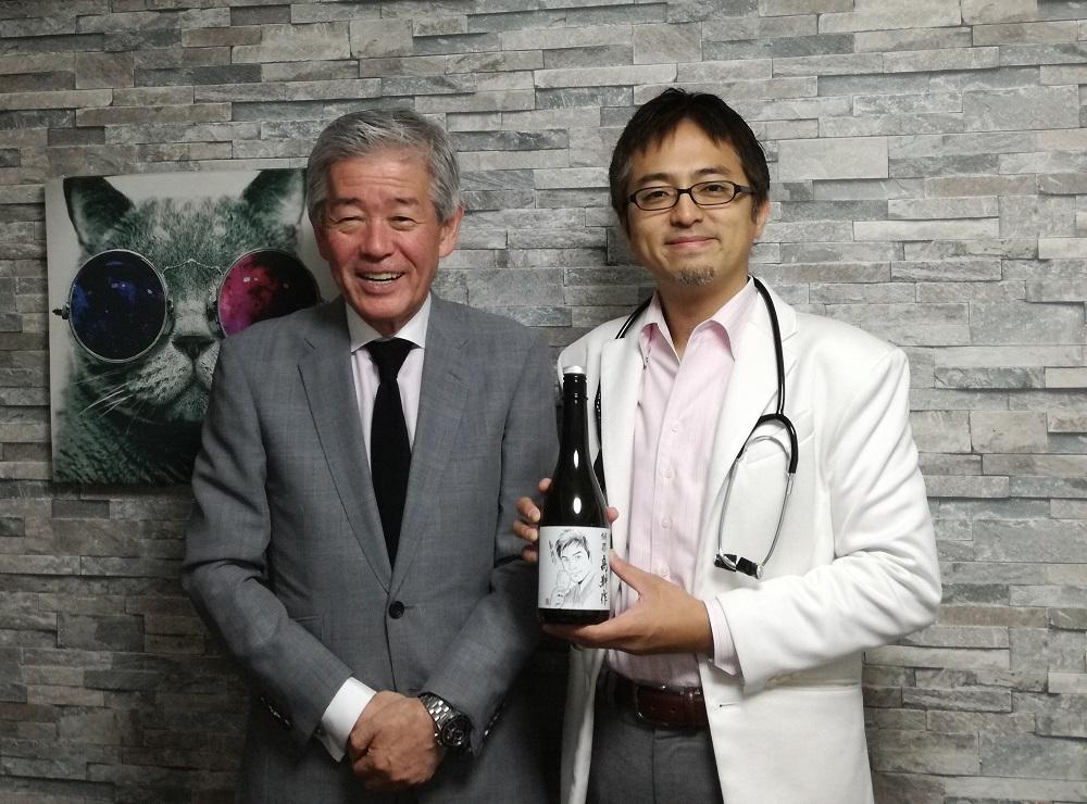 獺祭の桜井会長にインタビューさせていただきました